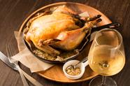 【数量限定】じっくり2時間かけて低温で焼き上げた肉汁あふれる『丸鶏ロースト』※ハーフサイズもあります