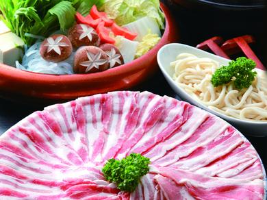滋賀県の人なら知らない人がいない「蔵尾ポーク」をメインにしたバームクーヘン『豚のしゃぶしゃぶコース』