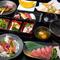 美食屋かなでのおいしさを象徴する『会席コース 奏』で美食をしっかり堪能しよう