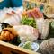 鮮度のよい魚介類が堪能できる『選べる刺盛り』