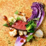 その時々の「最高のもの」を提供すべく、食材の旬や鮮度を重視したシェフのおまかせコース。その他「厳選食材を使ったシェフおまかせcorso」もおすすめ。御予算・料理内容などお気軽にご相談ください。