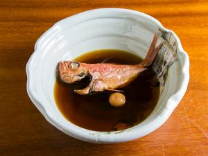 鮮度がいいからこその味わい『煮魚 金目鯛』