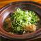 もちもちの食感がくせになる『蓮根豆腐と九条葱』