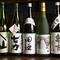 ドリンクメニュー豊富。青森県の地酒もたっぷり楽しめます