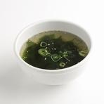 玉子スープ、ワカメスープ