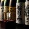 京の料理に華を添える、お酒は京都の地酒を中心にラインナップ