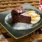 カカオの豊かな風味そのままを感じられる濃厚な『定番のガトーショコラ』