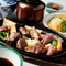 厳選部位を自家製タレでいただく『飛騨牛ステーキ定食』