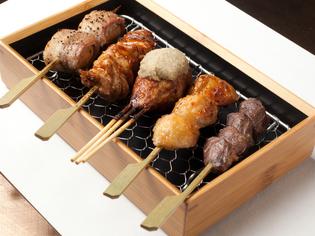 旨みが抜群の「山形地鶏」をはじめ、県内産の極上肉が揃う