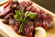 「ウエットエイジング」による肉の深みある味わいを堪能できる『カイノミステーキ 200g』