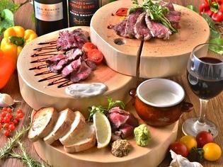 お肉の旨みを大事に。肉の素材を見極め厳選して仕入れています