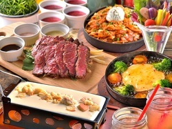人気No.1♪選べるメインは今年のトレンド鍋「トマトチーズ麹もつ鍋orカマンベールチーズ鍋」がおすすめ♪