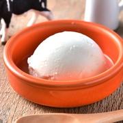 北海道の生乳を使用したバニラアイスクリーム。濃厚なのに口どけの良い上品な味わいに仕上げました。