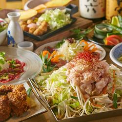 お料理も彩り華やかで贅沢な内容となっております♪飲み会・宴会・接待など各種宴会に◎