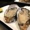 カキの名産地として有名。岩手県の赤崎産を使用している『生カキ/蒸しカキ』