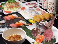 【女子会にオススメ!】 玉丸厳選の素材を使ったお料理を 満喫していただく全7品のコースです!