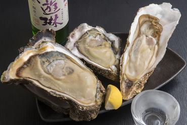 産地による味の違いを実感できる『生牡蠣』