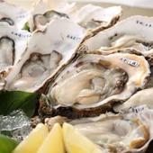 日本の海を味わう、海のミルクが溢れる新鮮生牡蠣
