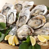 旬を味わう『生牡蠣6種食べ比べセット』