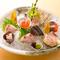 目にも鮮やかな料理と呉の地酒が織りなす美食の世界