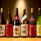 本場宮崎から取り寄せている「焼酎」をはじめ、酒も豊富です