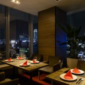 全面ガラス張り!新宿夜景を一望しながらロマンティックディナー