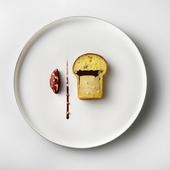 シャラン産鴨を使ったこのひと皿は、こだわりのひとつです