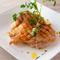 桜姫鶏のグリル 3種のテースト(塩オレンジ グレープマスタード アロエラシーソルト)