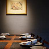 数時間の会食でゲストとの関係値を変える極上の空間と絶品の料理