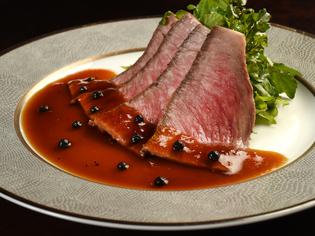 細かなサシと肉本来の味を楽しめる希少部位「イチボ肉」