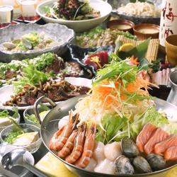 知床漁場で人気のイクラ丼がついた2時間食べ飲み放題コースがとってもオトク!
