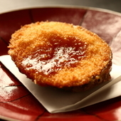 旬の天然物ならではの味わいを活かして。最適な焼き加減でご提供、『金目鯛西京焼き』