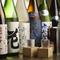全50種類ほど揃う日本酒は、旬の酒やオススメを入れ替える