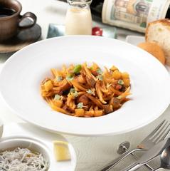 パスタもメインも両方食べたい方におすすめ♪少し贅沢な全5品の一番人気ランチコースです。