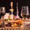 本格的なイタリア料理とスイーツ、ワインで過ごす2人の時間