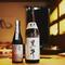 日本酒は親方が旬のネタに合うように厳選した品揃え
