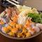 新鮮な旬の魚介がたっぷり。カニ味噌と海鮮の出汁がしみわたる『カニ味噌海鮮寄せ鍋(2人前~)』