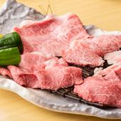 奥深い味わいを堪能できる『能登牛プレミアムA5ランクコース』