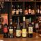 微発泡赤ワイン「ランブルスコ」もお手軽価格で楽しめます