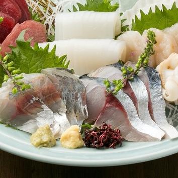 <飲み放題付>魚料理でおもてなしコース4500円→4000円