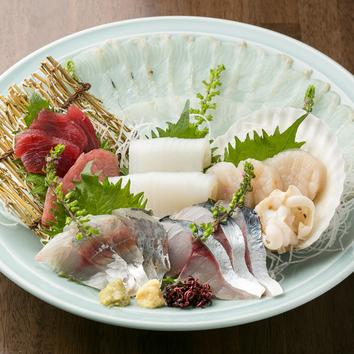 <飲み放題付>魚料理でおもてなしコース(4,500円→4,000円)