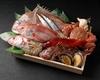 当店人気の前菜・御造りをお取り置き。 メインのお料理は、当日の単品メニューからお選びください。