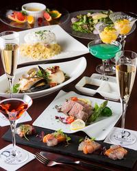 甘鯛のポワレ、九州産黒毛和牛等プレミアムな食材を使用した当店最高ポテンシャルオリジナルコース(全8品)