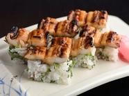 食べ応えと深みのある『焼穴子の棒寿司』