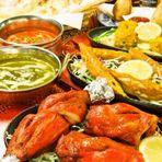 本格的なインド料理を囲めば、自然と盛り上がる歓送迎会に