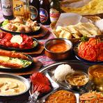 インド・ネパールの雰囲気で楽しむ、お腹も心も満たされる女子会
