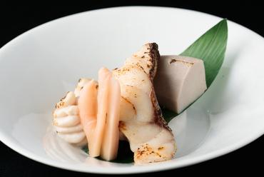 強肴『A5和牛ヒレステーキ 季節の温野菜添え』
