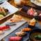 豪華海鮮を堪能できるコースは5,800円(税抜)~。