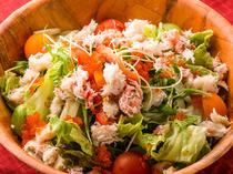 新鮮な直送野菜を使用!女性にも嬉しいヘルシー料理も◎