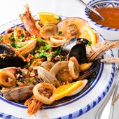 本場シチリアの味を大分産の魚介類で再現した『クスクス トラーパニ風』